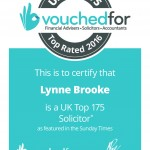 Lynne Brooke TOp 175 Cert